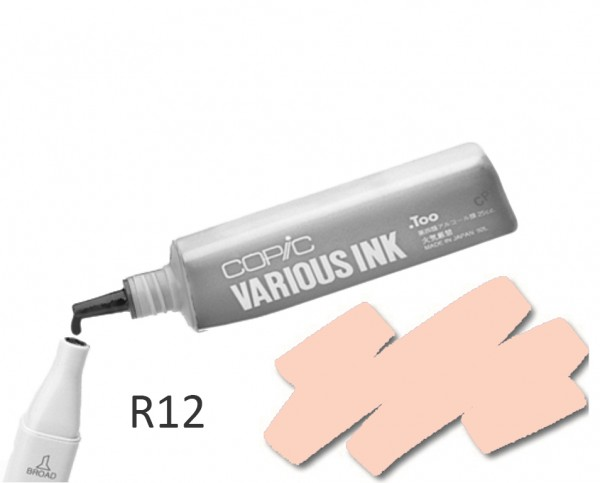 COPIC Various Ink R12 - Light Tea Rosa