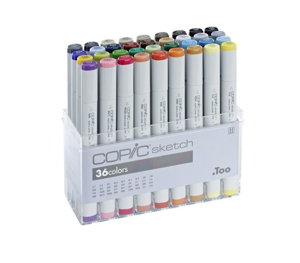 COPIC sketch 36er Set