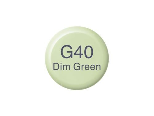 COPIC Ink G40 - Dim Green