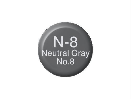 COPIC Ink N8 - Neutral Gray
