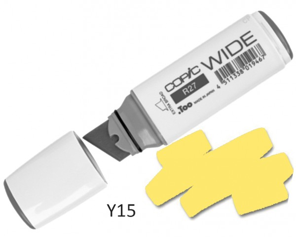 COPIC Marker Wide Y15 - Cadmium Yellow