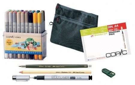 COPIC Ciao 36er Manga Starter Set A4