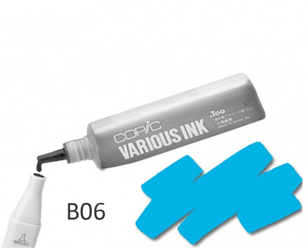 COPIC Various Ink B06 - Peacock Blue