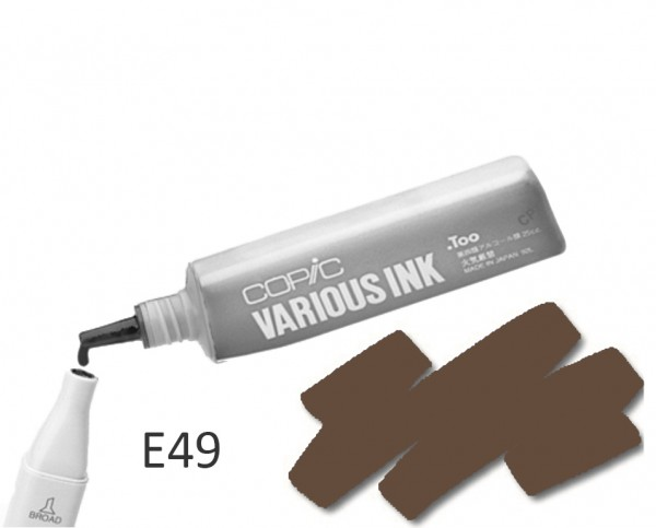 COPIC Various Ink E49 - Dark Bark