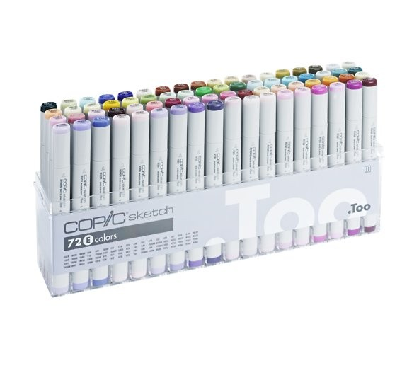 COPIC sketch 72er Set E