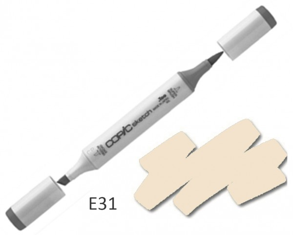 COPIC Sketch E31 - Brick Beige
