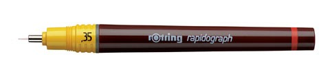 rotring Tuschestift rapidograph 0,35 mm