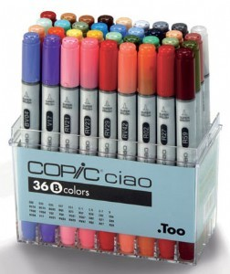 COPIC ciao 36er Set B