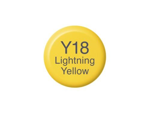 COPIC Ink Y18 - Lightning Yellow