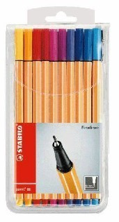 STABILO Fineliner point 88 - 20er Set