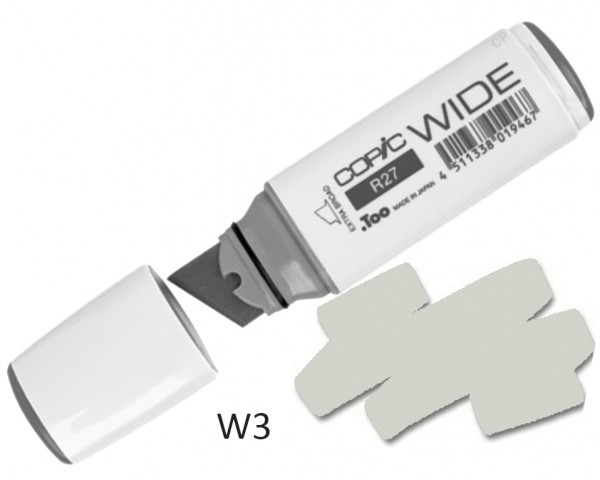 COPIC Marker Wide W3 - Warm Grey