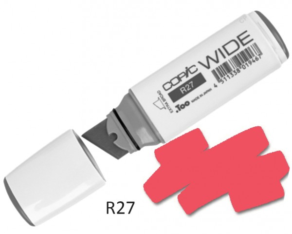 COPIC Marker Wide R27 - Cadmium Red