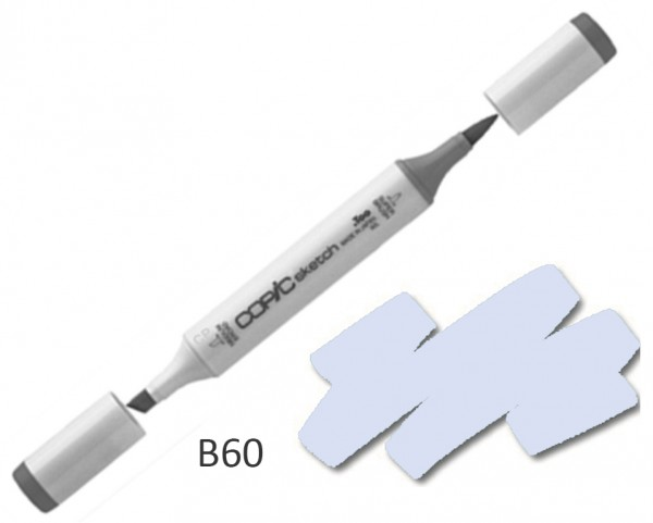 COPIC Sketch B60 - Pale Blue Gray