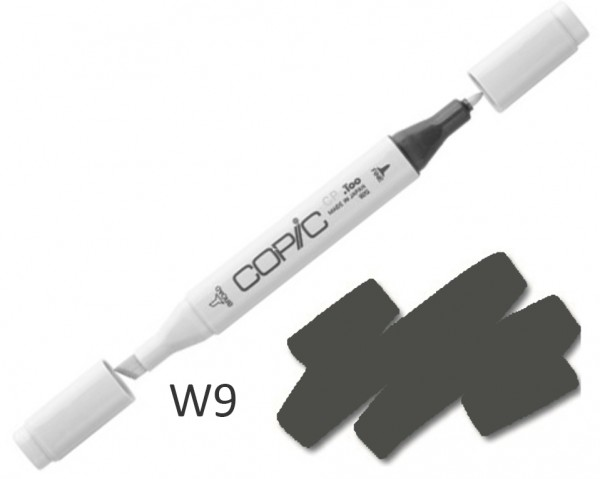 COPIC Marker W9 - Warm Grey