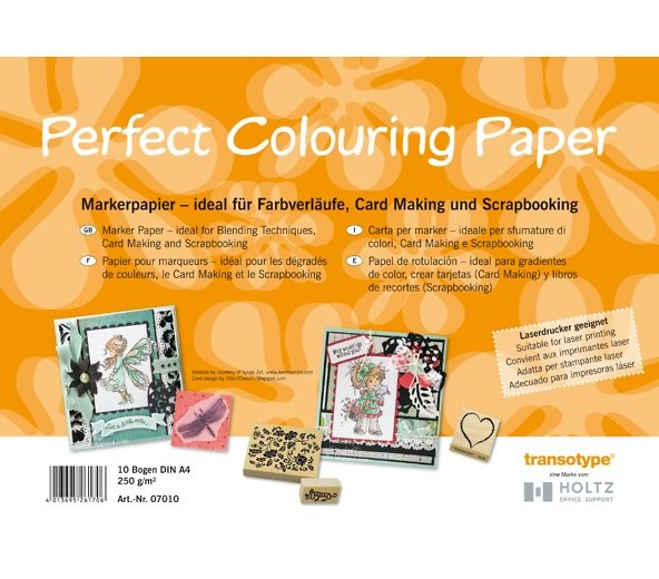 Marker Papier A4 Perfect Colouring Paper