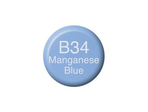 COPIC Ink B34 - Manganese Blue
