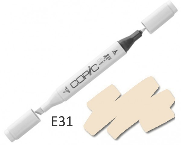 COPIC Marker E31 - Brick Beige