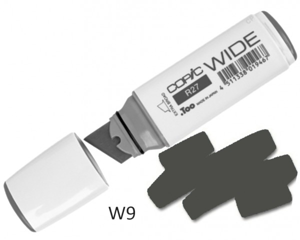 COPIC Marker Wide W9 - Warm Grey