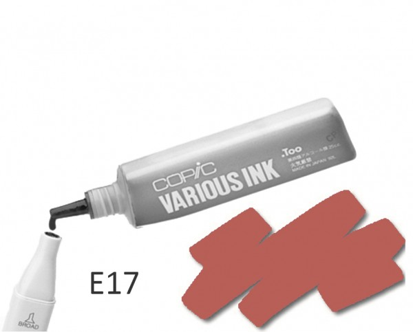 COPIC Various Ink E17 - Reddish Brass