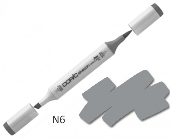COPIC Sketch N6 - Neutral Gray