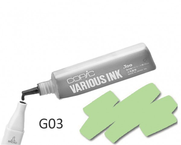 COPIC Various Ink G03 - Meadow Green