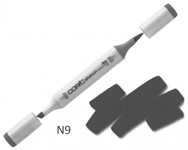 COPIC Sketch N9 - Neutral Gray