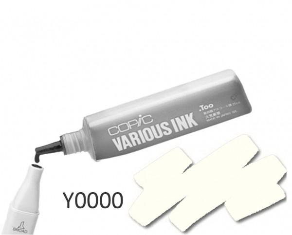 COPIC Various Ink Y0000 - Yellow Fluorite