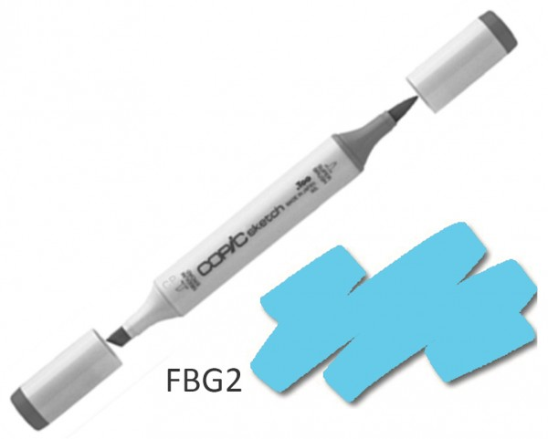 COPIC Sketch FBG2 - Flourescent Dull Blue Green