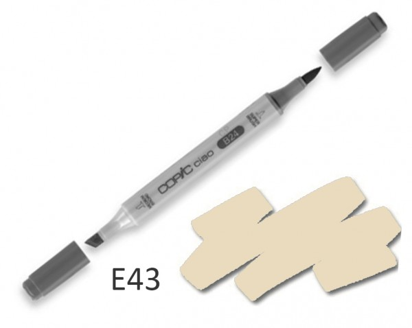 COPIC CIAO E43 - Dull Ivory