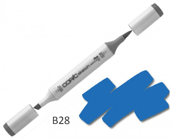 COPIC Sketch B28 - Royal Blue