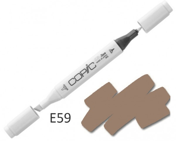 COPIC Marker E59 - Walnut