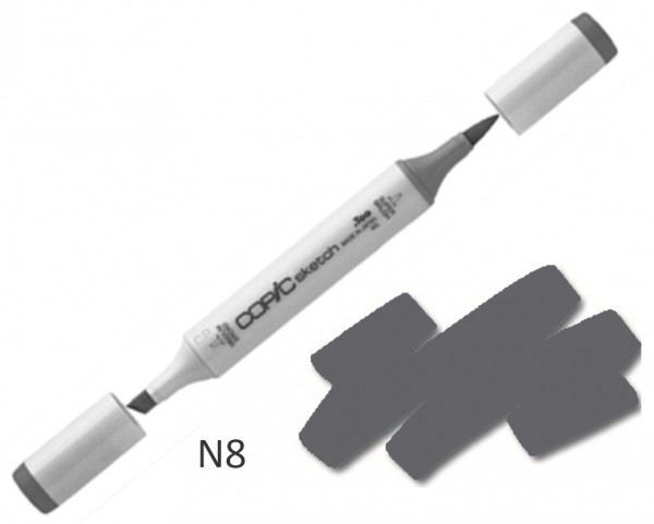 COPIC Sketch N8 - Neutral Gray