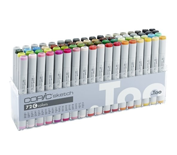 COPIC sketch 72er Set C