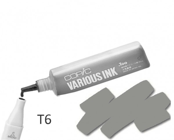COPIC Various Ink T6 - Toner Gray