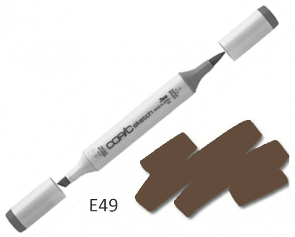 COPIC Sketch E49 - Dark Bark