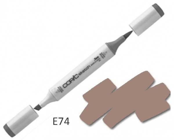 COPIC Sketch E74 - Cocoa Brown