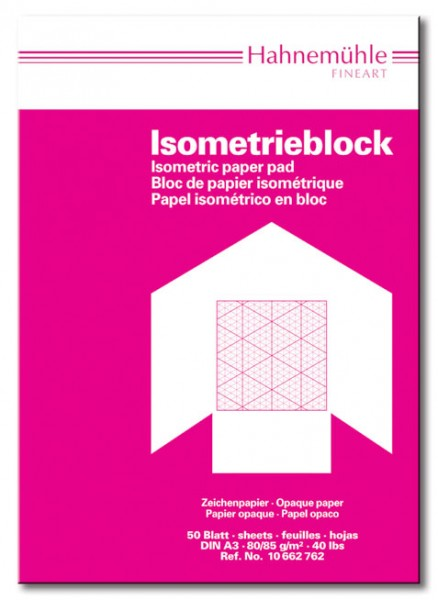 Isometriepapier Block A4