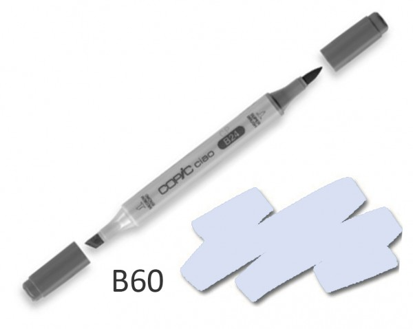 COPIC CIAO B60 - Pale Blue Gray