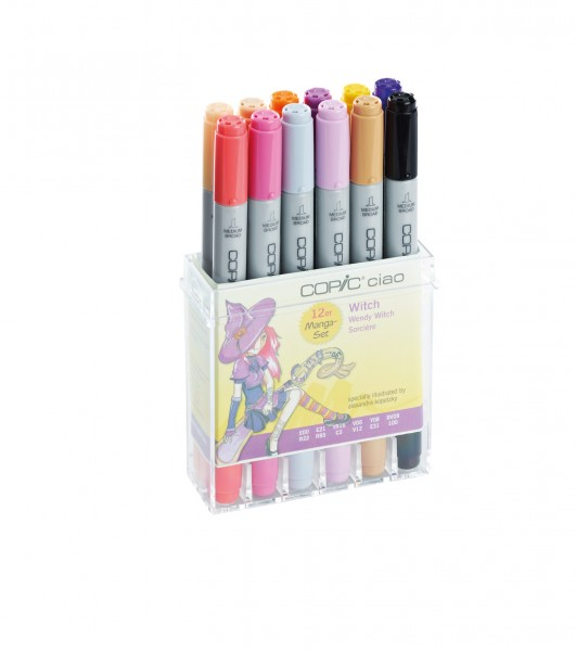 COPIC ciao 12er Set Witch