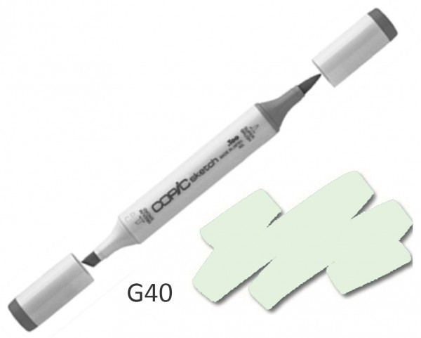 COPIC Sketch G40 - Dim Green