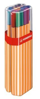 STABILO Fineliner point 88 - 10er BIG BOX