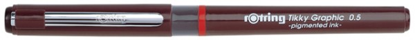 Tuschestift rotring Tikky Graphic 0,2mm
