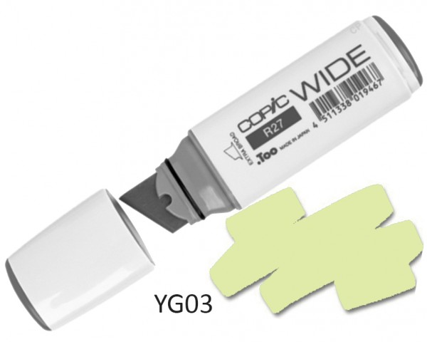 COPIC Marker Wide YG03 - Yellow Green