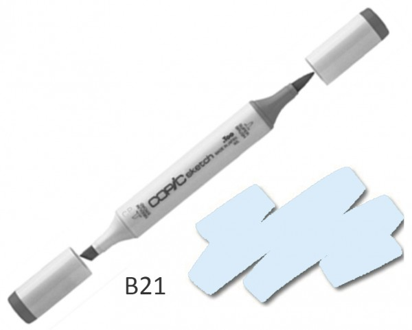 COPIC Sketch B21 - Baby Blue