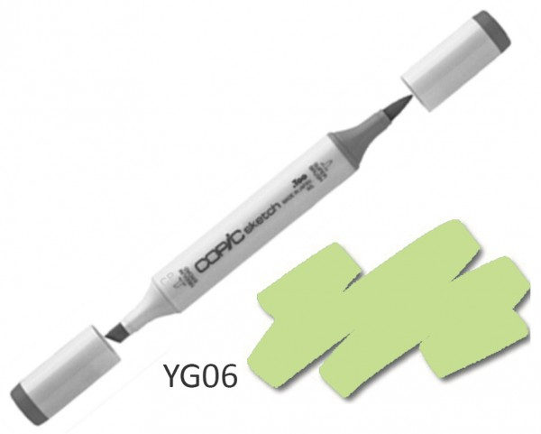 COPIC Sketch YG06 - Yellowish Green