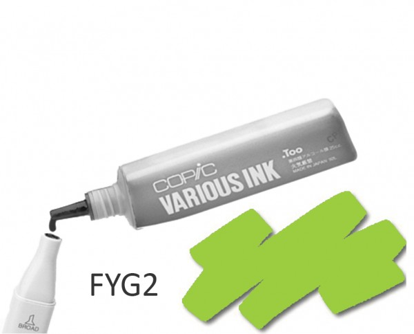 COPIC Various Ink FYG2 - Flourescent Dull Yellow Green