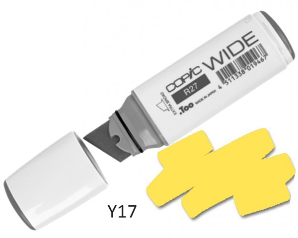 COPIC Marker Wide Y17 - Golden Yellow