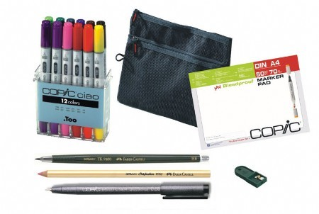 COPIC Ciao 12er Starter Set A4