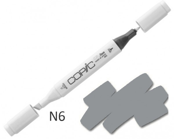 COPIC Marker N6 - Neutral Gray