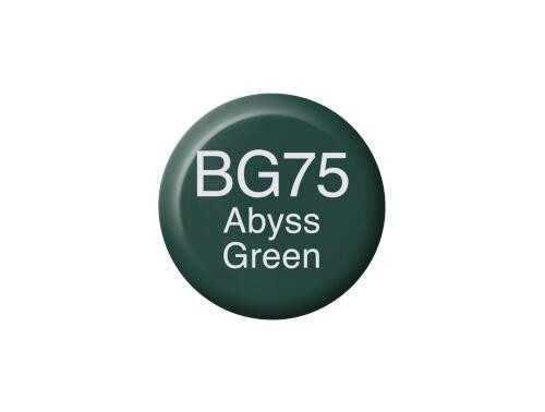 COPIC Ink BG75 - Abyss Green